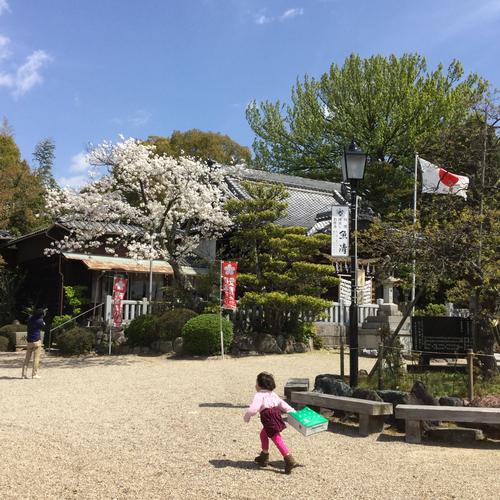 愛知県の岡崎天満宮に来ています。