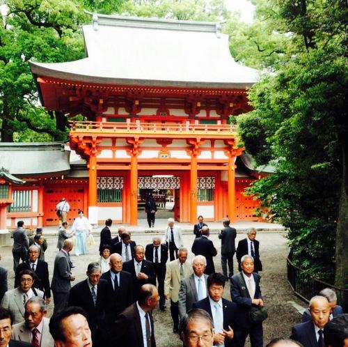 横須賀三浦の氏子総代会旅行でした。