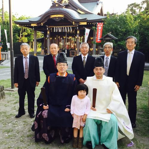 正五九祭、五月の小祭を氏子会役員ご参列のもと、執り行ないました。