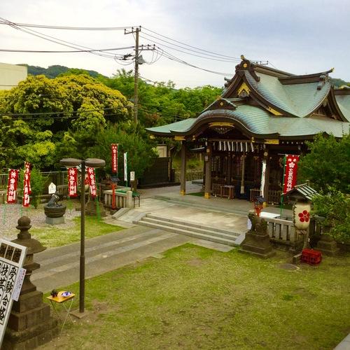 京急フェスタと花の国のクラシックカーのイベントで賑やかだった久里浜の1日が終わろうとしています。