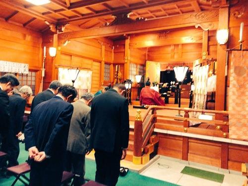 祈年祭並びに初午祭を氏子会役員参列のもと行いました。