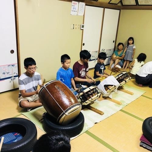 火・水の18時から、内川町内会館にてお囃子の練習をしています。ご興味のある方は是非!