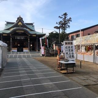初詣は久里浜天神社へお越し下さい